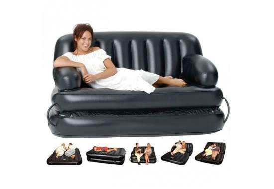 Bestway 75054, надувной диван трансформер 188 x 152 x 64 см (75056 без насоса)