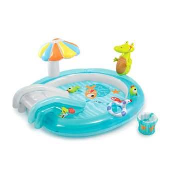 Intex 57165, дитячий надувний центр басейн Алігатор