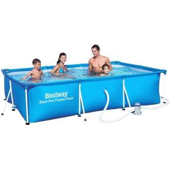Bestway 56424, каркасний басейн 400 x 211 x 81 см Steel Pro Frame Pool