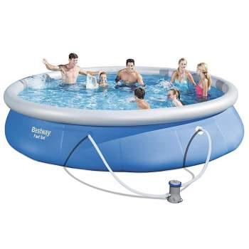 Bestway 57313, надувний басейн Fast Set