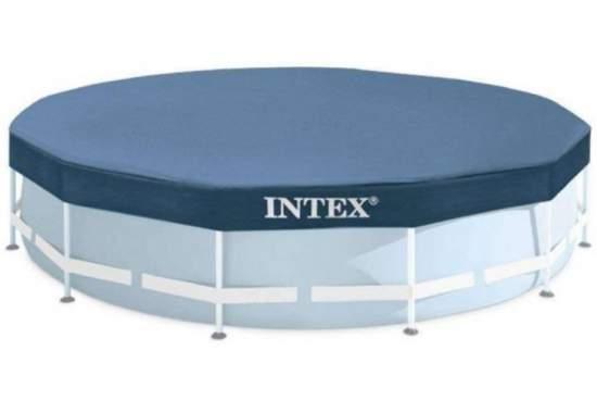 Intex 28031, тент для каркасного бассейна, Д366см