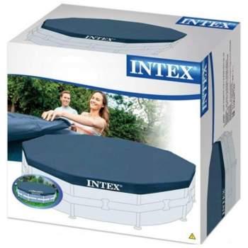 Intex 28031, тент для каркасного басейну, Д366см