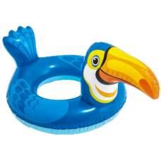 Intex 58221-toukan, надувной круг Звери. Тукан