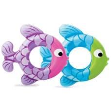 Intex 59222, надувний круг рибки, 76см