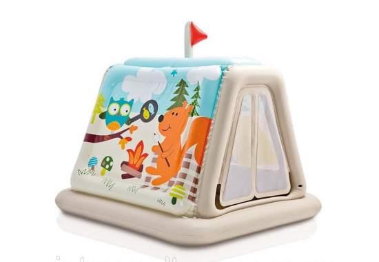 Intex 48634, детский игровой центр раскладной Игровой центр Звриный лагерь