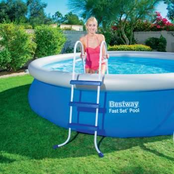 Bestway 58335, лестница для бассейна, 107см