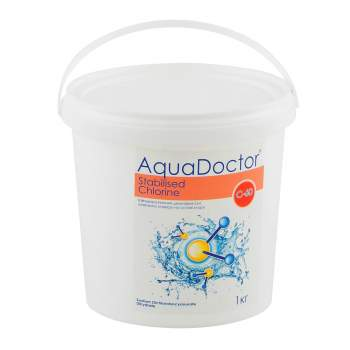 AquaDoctor C60T-1, Швидкий (шоковий) Хлор (20г x 50шт), 1кг