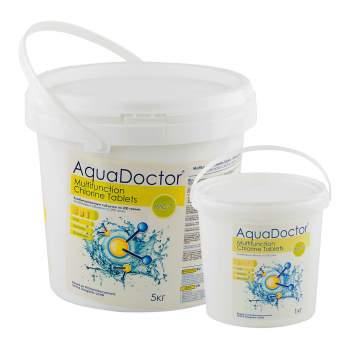AquaDoctor MCT-1, Мультитаб. (хлор, альгіцид, коагулянт), 1кг