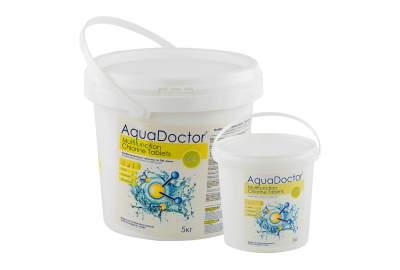 AquaDoctor MCT-1, Мультитаб. (хлор, альгицид, коагулянт), 1кг