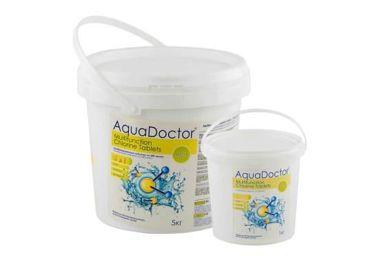 AquaDoctor MCT-5, Мультитаб. (хлор, альгіцид, коагулянт), 5кг