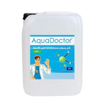AquaDoctor PHML-20, pH Minus. Жидкость, 20л