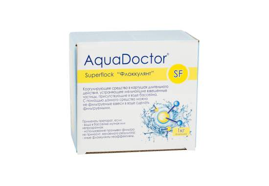 AquaDoctor SF-1, Коагулянт. Мешочки, 1кг