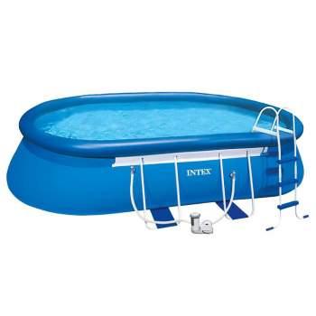 Intex 26192, надувний басейн Oval Frame Pool