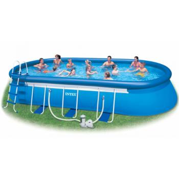 Intex 26194, надувний басейн Oval Frame Pool