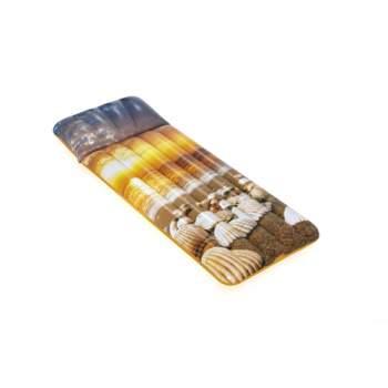 Bestway 43416-brown, надувний матрас для плавання183x71см. <br />Коричневий