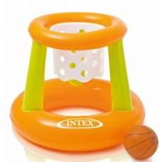 Intex 58504, надувное баскетбольное кольцо на воде 67х55см