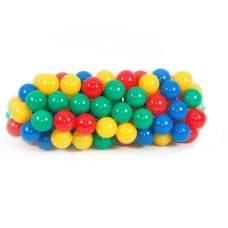 Toys Plast d82, шарики для сухих бассейнов. D8,2см, 100шт
