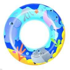 Bestway 36113-blue, надувний круг Морські пригоди, 51 см. Блакитний