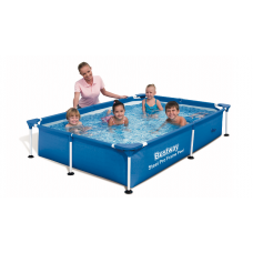 Bestway 56401, каркасний басейн 221 x 150 x 43 см Steel Pro Frame Pool