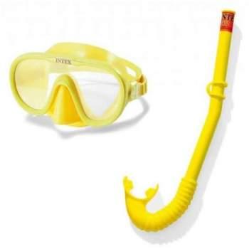 Intex 55642, маска і трубка для плавання від 8-ми років