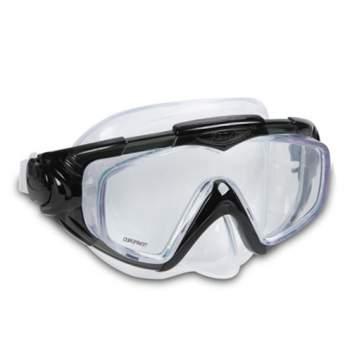 Intex 55981-black, маска для плавання, для дорослих. Чорна