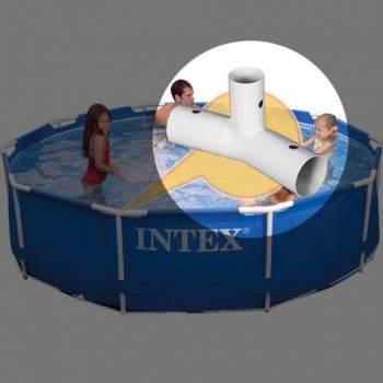 Intex 10463, Трійник для каркасних басейнів Metal Frame D-3,05 м