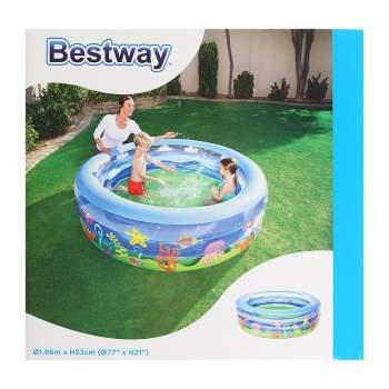 "Bestway 51121, надувний дитячий басейн "" Скат"""