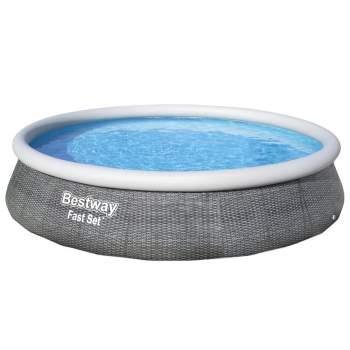 Bestway 57376, надувний басейн Fast Set