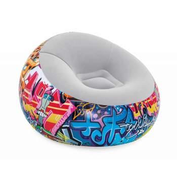 Bestway 75075, надувное кресло 112 x 66 см, Graffiti