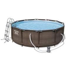 Bestway 56709, каркасний басейн 366 x 100 см Steel Pro Frame Pool