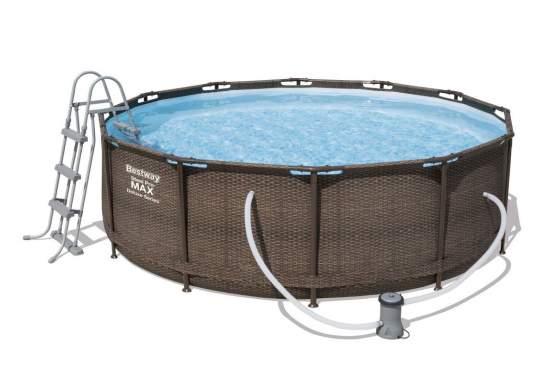 Bestway 56709, каркасный бассейн 366 x 100 см Steel Pro Frame Pool