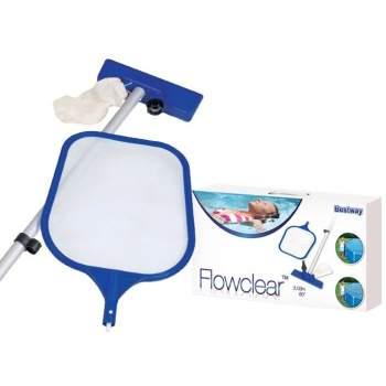Bestway 58013, набор для очистки дна и верхнего слоя воды