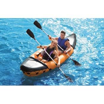 Bestway 65077, надувная лодка-байдарка LITE-RAPID X2 KAYAK, двухместная