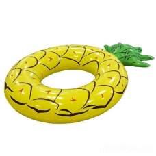 Bestway 36121-pineapple, надувной круг Ананас, 116-88см