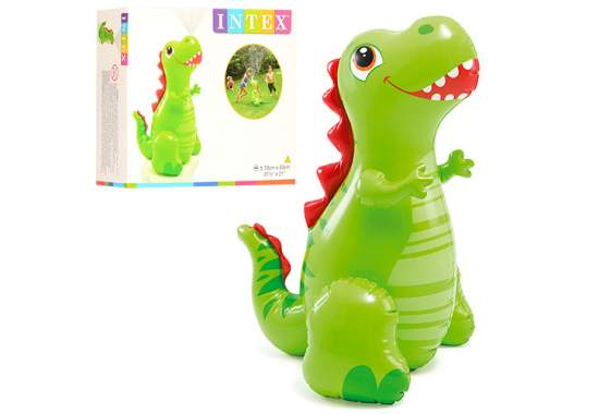 Intex 56598, надувнная фігура Динозаврик з фонтаном