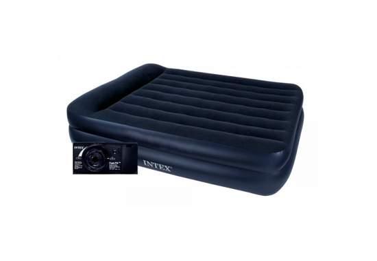 Intex 64122, надувне ліжко 191 x 99 x 42 см з вбудованим електронасосом