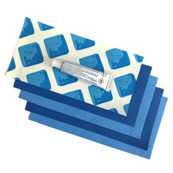 Intex 10114, ремкомплект для синих бассейнов