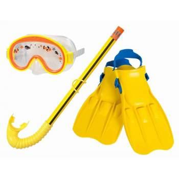 Intex 55954, набір для плавання, розмір S, 3-8років