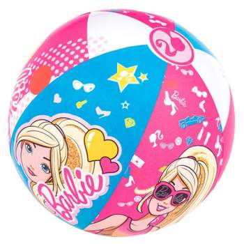 Bestway 93201, надувной мяч Barbie, 51см