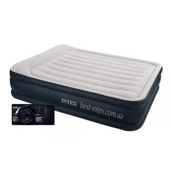 Intex 64136, надувне ліжко 203 x 152 x 42 см