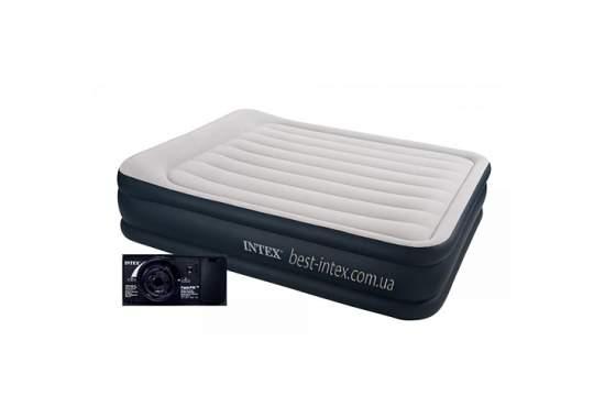 Intex 64140, надувне ліжко 203 x 152 x 51 см