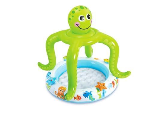"""Intex 57115, надувний дитячий басейн """"ВосьмиНіг"""""""