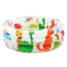 """Intex 57106, надувной детский бассейн """"Динозавры"""""""