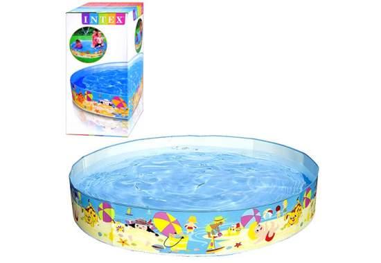 Intex 56451, каркасный детский бассейн Пляж