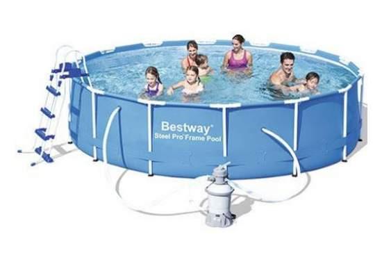 Bestway 56308, каркасный бассейн 427 x 100 см Steel Pro Frame Pool
