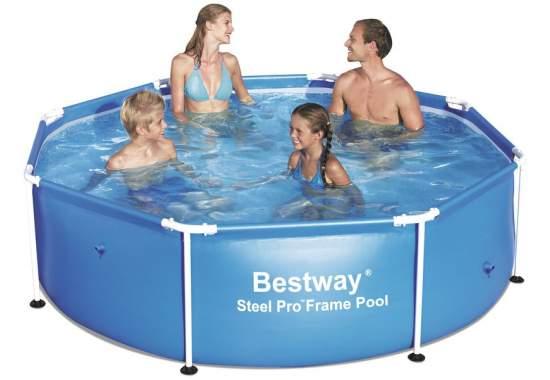 Bestway 56431, каркасный бассейн 244 x 61 см Steel Pro Frame Pool