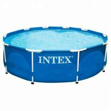 Intex 28200, каркасный бассейн 305 x 76 см Metal Frame Pool