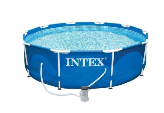 Intex 28202, каркасный бассейн 305 x 76 см Metal Frame Pool