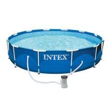 Intex 28212, каркасний басейн 366 x 76 см Metal Frame Pool