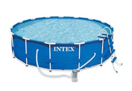 Intex 28236, каркасний басейн 457 x 122 см Metal Frame Pool